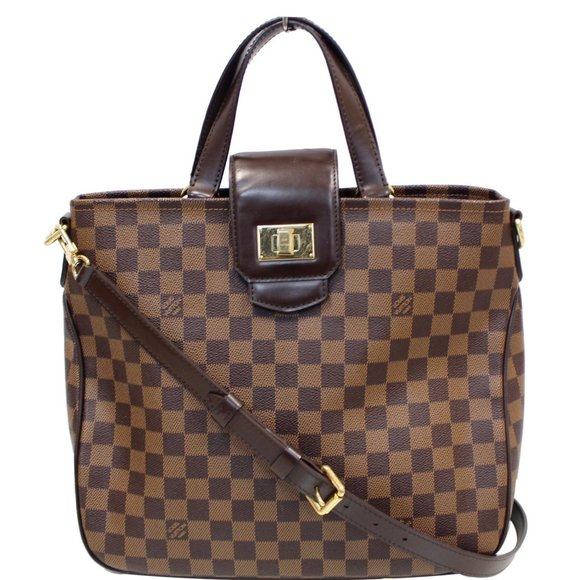 Louis Vuitton Handbags - LOUIS VUITTON CABAS ROSEBERY DAMIER EBENE SHOULDER